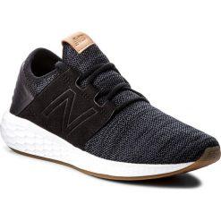 Buty NEW BALANCE - WCRUZKB2 Czarny. Czerwone buty do biegania damskie marki New Balance, z gumy. W wyprzedaży za 269,00 zł.