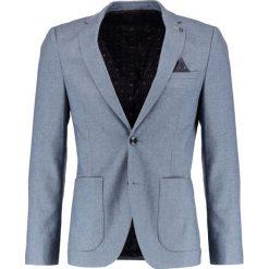 Marynarki męskie slim fit: Burton Menswear London OIL Marynarka garniturowa blue