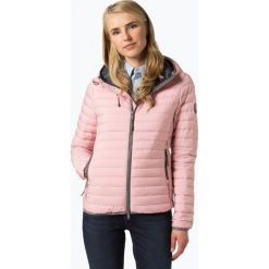 Superdry - Damska kurtka puchowa, różowy. Szare kurtki damskie puchowe marki Superdry, l, z nadrukiem, z bawełny, z okrągłym kołnierzem. Za 589,95 zł.