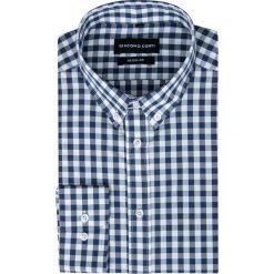 Koszula SIMONE KDWR000230. Białe koszule męskie jeansowe marki Giacomo Conti, m, button down. Za 149,00 zł.