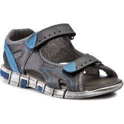Sandały męskie skórzane: Sandały KORNECKI – 03469 M/Grey/S