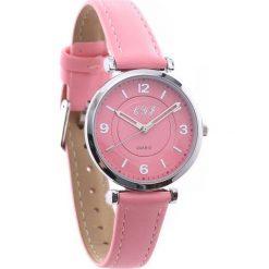 Ciemnoróżowy Zegarek Freestyle. Czerwone zegarki damskie Born2be. Za 24,99 zł.