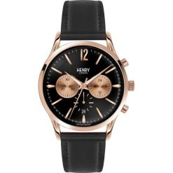 Zegarki męskie: Henry London RICHMOND Zegarek chronograficzny black
