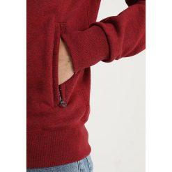 Superdry ORANGE LABEL HYPER POP HOOD Bluza z kapturem sonix red grit. Pomarańczowe bluzy męskie rozpinane marki Superdry, l, z bawełny, z kapturem. Za 389,00 zł.