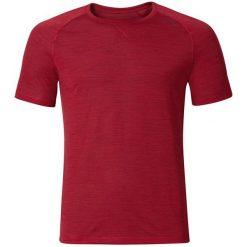 Odlo Koszulka męska s/s crew neck Revolution Light czerwona r. L. Czerwone koszulki sportowe męskie Odlo, l. Za 158,85 zł.