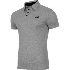 Koszulki polo: 4f Koszulka polo męska H4L18-TSM024 szara r. S