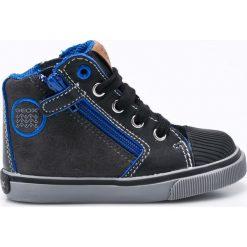 Geox - Buty dziecięce. Szare buty sportowe chłopięce marki Geox, z materiału. W wyprzedaży za 179,90 zł.