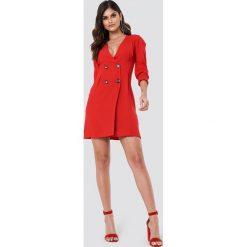 Marynarki i żakiety damskie: Trendyol Sukienka w stylu marynarki - Red