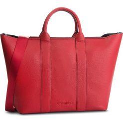 Torebka CALVIN KLEIN - Race Ew Shopper K60K604838 640. Czerwone shopper bag damskie Calvin Klein, ze skóry ekologicznej. Za 749,00 zł.