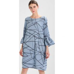Sukienki hiszpanki: Soyaconcept Sukienka letnia pearl blue combi