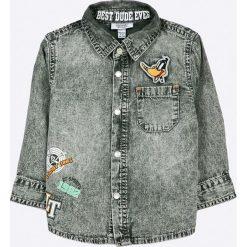 Blukids - Koszula dziecięca 74-98 cm. Szare koszule chłopięce z długim rękawem marki Blukids, m, z bawełny, z klasycznym kołnierzykiem. W wyprzedaży za 49,90 zł.