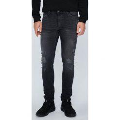 Tom Tailor Denim - Jeansy Culver. Czarne jeansy męskie skinny TOM TAILOR DENIM. W wyprzedaży za 199,90 zł.