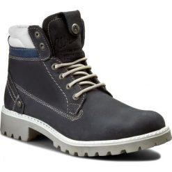 Trapery WRANGLER - Creek WL162500 Jeans 118. Niebieskie buty zimowe damskie Wrangler, z jeansu. W wyprzedaży za 279,00 zł.