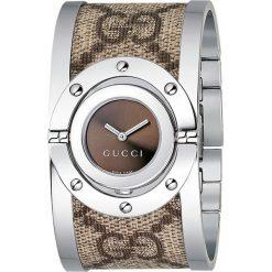 ZEGAREK GUCCI TWIRL YA112425. Brązowe zegarki damskie marki GUCCI, ze stali. Za 3540,00 zł.