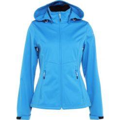 Icepeak PESSY Kurtka Softshell turquoise. Niebieskie kurtki damskie softshell Icepeak, z materiału. Za 249,00 zł.