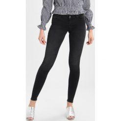 ONLY ONLCORAL  Jeans Skinny Fit black denim. Czarne rurki damskie ONLY. Za 199,00 zł.
