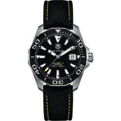 ZEGAREK TAG HEUER AQUARACER 300M WAY211A.FC6362. Czarne zegarki męskie TAG HEUER, ceramiczne. Za 9770,00 zł.