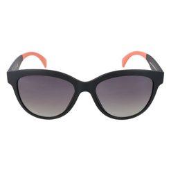 """Okulary przeciwsłoneczne damskie: Okulary przeciwsłoneczne """"GU7433"""" w kolorze czarno-koralowym"""