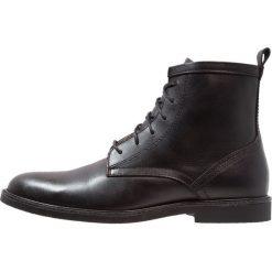 Zign Botki sznurowane black. Czarne botki męskie Zign, z materiału, na sznurówki. Za 379,00 zł.
