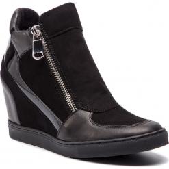 Sneakersy GINO ROSSI - DBI175-Y30-0444-9999-F 99/99. Czarne sneakersy damskie Gino Rossi, z lakierowanej skóry. W wyprzedaży za 449,00 zł.