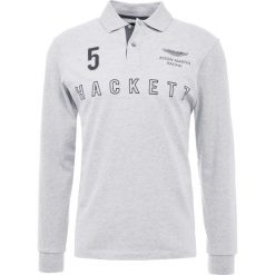 Hackett Aston Martin Racing OUTLINE Koszulka polo pearl grey. Szare koszulki polo Hackett Aston Martin Racing, l, z bawełny. Za 629,00 zł.