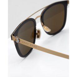BOSS CASUAL Okulary przeciwsłoneczne goldfarben. Żółte okulary przeciwsłoneczne męskie wayfarery BOSS Casual. Za 1029,00 zł.