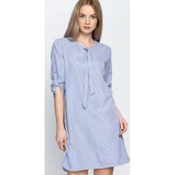 Sukienki: Niebieska Sukienka Lanes