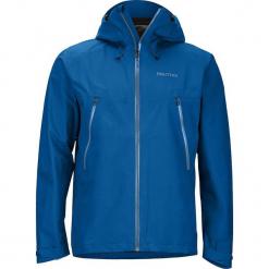 """Kurtka funkcyjna """"Knife"""" w kolorze niebieskim. Niebieskie kurtki męskie skórzane marki Marmot, m. W wyprzedaży za 591,95 zł."""
