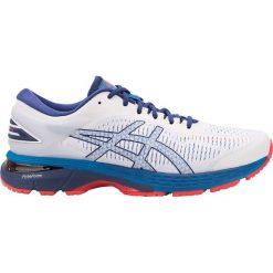Buty sportowe męskie: Asics Buty męskie Gel-kayano 25 100 White/ Blue Print r.  44