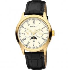 Zegarek kwarcowy w kolorze beżowo-czarno-złotym. Czarne, analogowe zegarki męskie Esprit Watches, ze stali. W wyprzedaży za 272,95 zł.