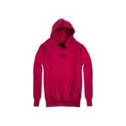 Bluza Hoodie Classic Carmin. Czerwone bluzy męskie rozpinane marki KALENJI, m, z elastanu, z długim rękawem, długie. Za 229,00 zł.