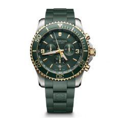 ZEGAREK VICTORINOX SWISS ARMY Maverick Chronograph 241694. Zielone zegarki męskie Victorinox, szklane. Za 2790,00 zł.
