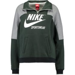 Bluzy damskie: Nike Sportswear CREW ARCHIVE Bluza outdoor green