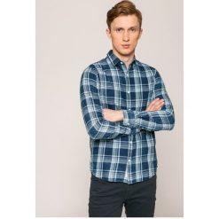 Only & Sons - Koszula. Szare koszule męskie na spinki marki Only & Sons, l, w kratkę, z bawełny, z klasycznym kołnierzykiem, z długim rękawem. W wyprzedaży za 89,90 zł.