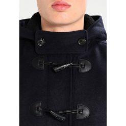 Topman Płaszcz wełniany /Płaszcz klasyczny dark blue. Niebieskie płaszcze wełniane męskie marki Topman, m, klasyczne. Za 509,00 zł.