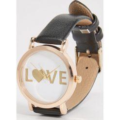 Zegarki damskie: Zegarek na rękę - Czarny
