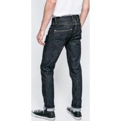 Pepe Jeans - Jeansy Spike. Niebieskie jeansy męskie slim Pepe Jeans, z aplikacjami, z bawełny. W wyprzedaży za 219,90 zł.