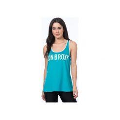 Roxy Koszulka Sportowa Cutback Tank J Dark Jade Xs. Białe bluzki sportowe damskie marki Roxy, l, z nadrukiem, z materiału. W wyprzedaży za 109,00 zł.