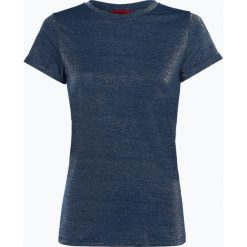 HUGO - T-shirt damski – Denna_1, niebieski. Niebieskie t-shirty damskie HUGO, s. Za 269,95 zł.