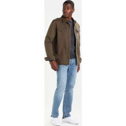 Swetry klasyczne męskie: Selected Homme SHDCALI CREW NECK Sweter dark grey melange/black