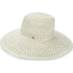 Kapelusz LIU JO - Cappello Tesa Larga N18287 T0300 Soia 21404. Białe kapelusze damskie Liu Jo, z tworzywa sztucznego. W wyprzedaży za 219,00 zł.