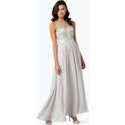 Laona - Damska sukienka wieczorowa, szary. Szare sukienki koktajlowe marki Laona, z koronki. Za 799,95 zł.