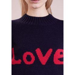 Swetry klasyczne damskie: Lovechild BERNADETTE Sweter total eclipse