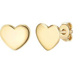 Biżuteria i zegarki: Pozłacane kolczyki-wkrętki