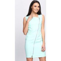 Sukienki: Miętowa Sukienka Safe Passage