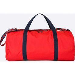 Under Armour - Torba. Czerwone torebki klasyczne damskie Under Armour, w paski, z materiału. W wyprzedaży za 119,90 zł.