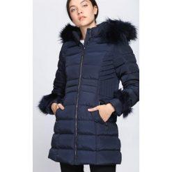 Granatowa Kurtka Hear Me Now. Czarne kurtki damskie pikowane Born2be, na zimę, l, z kapturem. Za 144,99 zł.