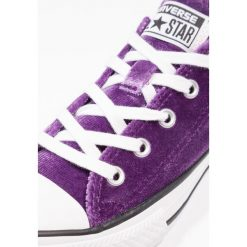 Trampki chłopięce: Converse CHUCK TAYLOR ALL STAR OX NIGHT PURPLE/WHITE/WHITE YOUTH Tenisówki i Trampki night purple/white