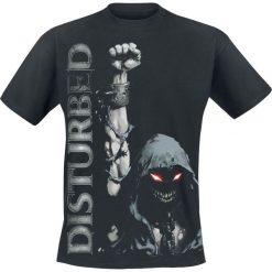 Disturbed Up Yer Fist T-Shirt czarny. Czarne t-shirty męskie z nadrukiem Disturbed, l, z okrągłym kołnierzem. Za 74,90 zł.