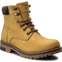 Trapery LASOCKI - WI21-DOG-01 Beżowy. Żółte buty zimowe damskie Lasocki, z materiału. Za 199,99 zł.